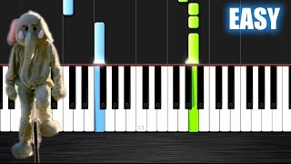 Coldplay - Paradise - EASY Piano Tutorial  Ноты и МИДИ (MIDI) можем выслать Вам (Sheet music for pia