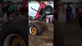 SWRAJ_855 tochan muqabla ||punjabi tractor tochan video 2018