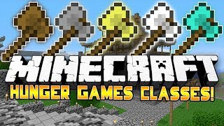 THROWING AXES?! - Minecraft: Hunger Games CLASSES! w/Preston&Woofless!