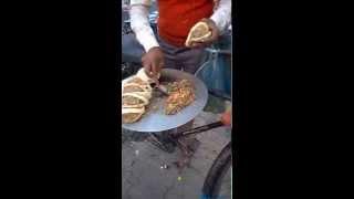 Ludhiana India  city photo : Indian Street Food! Kulcha the best street food in Ludhiana ( India )