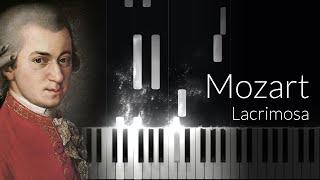Lacrimosa - Wolfgang Amadeus Mozart [Piano Tutorial]