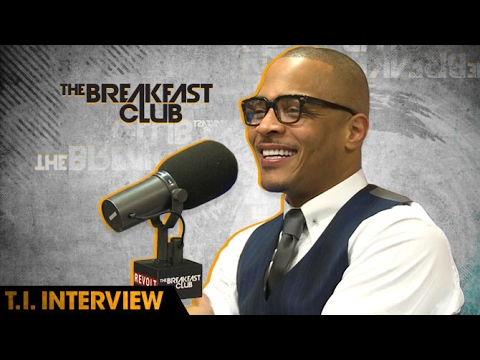 T.I. Talks The Family Hustle, His Recent Stage Incident & His Socially Conscious Album W/ The Breakfast Club