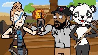 Original Fortnite Animation   The Storm ft. Daequan   The Squad Season 2