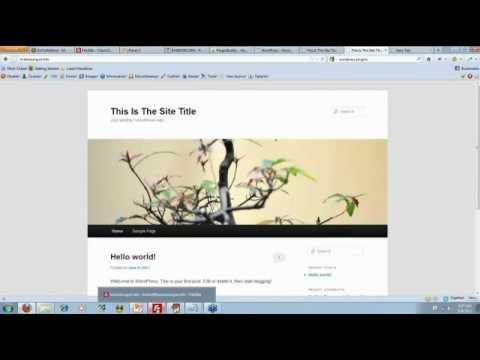 WordPress Crash Course Video 1 – WP Basics
