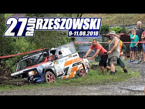 27. Rajd Rzeszowski 2018 - the best action by MopMan VideoRally