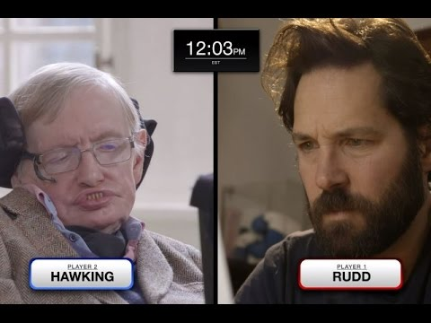 Watch Paul Rudd Beat Stephen Hawking at Quantum