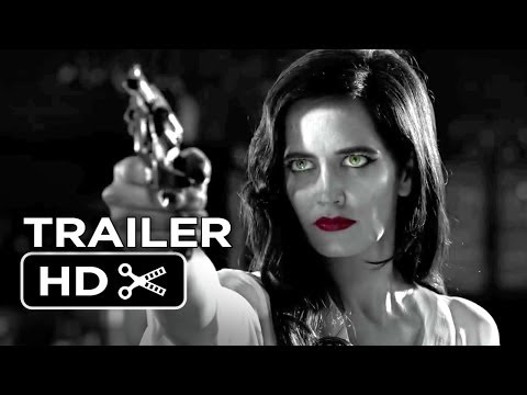 Sin City: A Dame To Kill For TRAILER 1 (2014) – Jessica Alba, Eva Green Movie HD