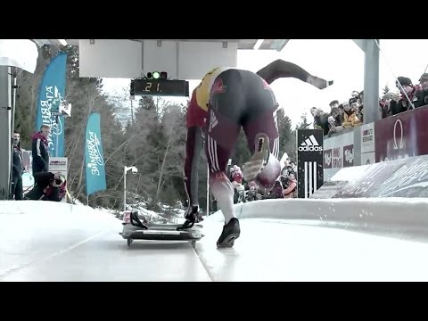 FIBT | Men's Skeleton World Cup 2013/2014 – Igls Heat 1