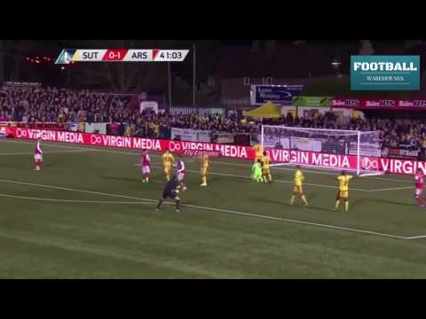 Sutton United vs Arsenal 0-2 Extended Highlights (FA CUP 2017)