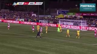 Sutton United vs Arsenal 0-2 Extended Highlights (FA CUP 2017)Highlights FA Cup 19 Feb 2017 Sutton United vs Arsenal 0-2 All Goals & Extended Highlights