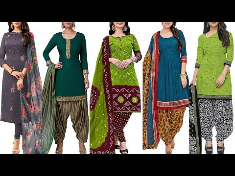 100 Dress Material || Rs.299 Women's Cotton Embroidered Dress Material || Shopping Online