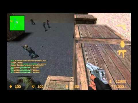 Let's Play Counter Strike : Source Zombie Mod #026 - HD Texturenpaket