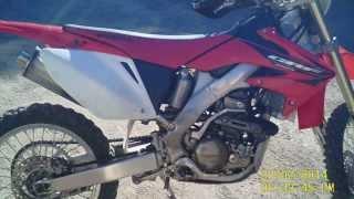 8. honda CRF 250 X 2006