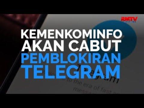 Kemenkominfo Akan Cabut Pemblokiran Telegram