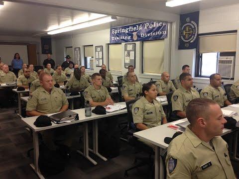 Springfield Police Academy Tour 9-3-2015