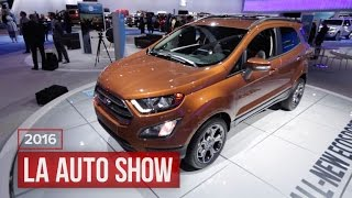 Ford's cute, little EcoSport is stuffed full of big tech by Roadshow
