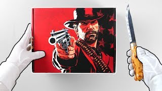 Red Dead Redemption 2 Collector's Box Unboxing + Ultimate Edition