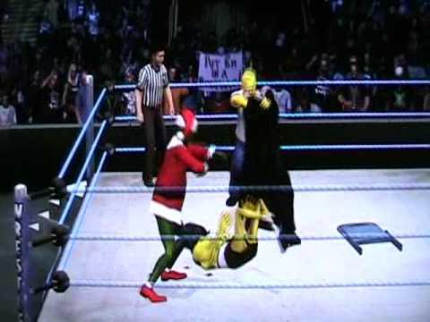 SpongeBob vs The Grinch vs Homer Simpson vs The Count(Sesame Street) SVR 10 (DfantasyCaws)