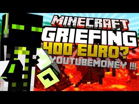 PlotMe GRIEFEN! – 400 EURO für RANG ?!?   Minecraft Server Griefing – arazhulhd