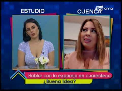 Hablar con la expareja en cuarentena ¿Buena Idea?