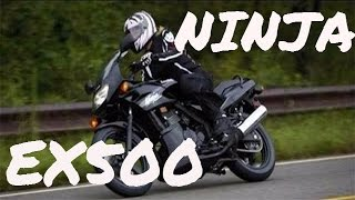 8. Kawasaki Ninja EX500r - overview #8