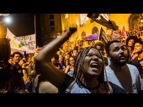 Nach Museumsbrand in Rio: Proteste gegen die Regierung