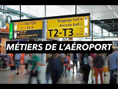 LES MÉTIERS DE L'AÉROPORT