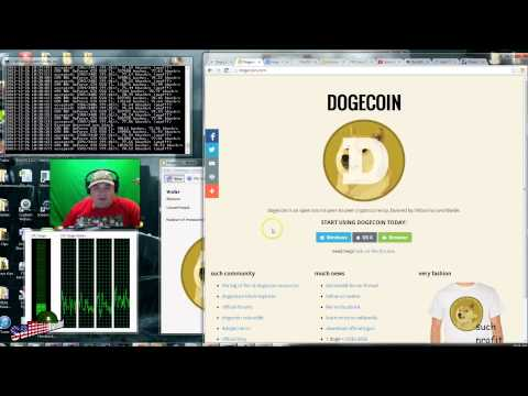 Dogecoin mining, do it now while it is easy to do it