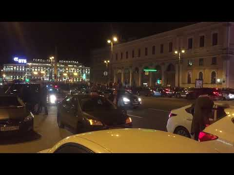 Митинг за Навального СПБ 7 октября 2017