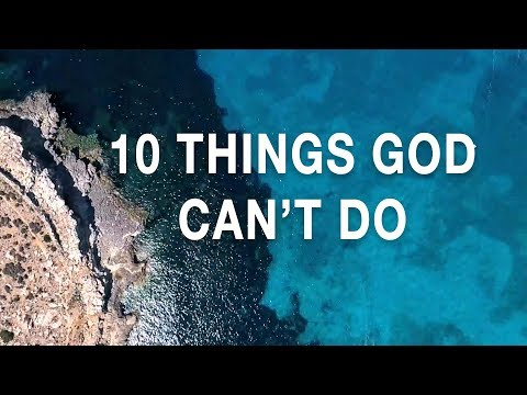 10 Things God Can't Do – Fr. Rob Galea