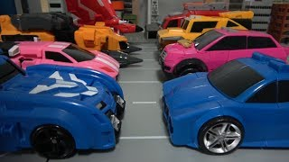 Video 미니특공대X 자동차 로봇 변신 장난감 놀이 Miniforce X New & Old Car Robot Toys MP3, 3GP, MP4, WEBM, AVI, FLV September 2018