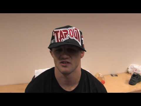 Justin Wilcox Post Fight ShoMMA 7