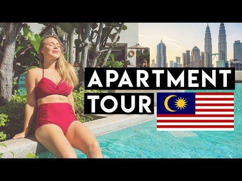 KUALA LUMPUR APARTMENT TOUR - Why we love Malaysia!