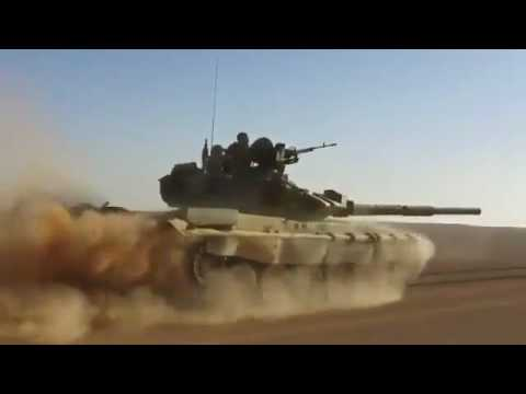 Погоню Т 90 за террористами по сирийской пустыне показали на - DomaVideo.Ru