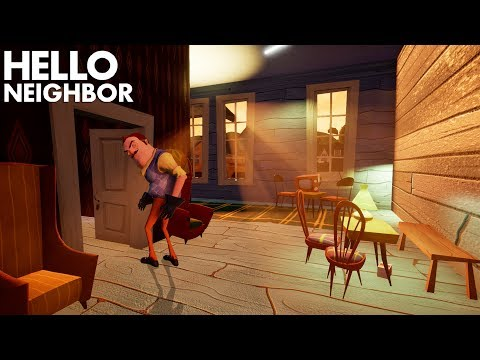 Stealing The NEIGHBOR'S HOUSE And Decorating It!!! | Hello Neighbor (Alpha 4) (видео)