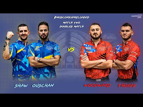 Mosconi Cup Reloaded: Shaw/Ouschan vs Woodward/Thorpe