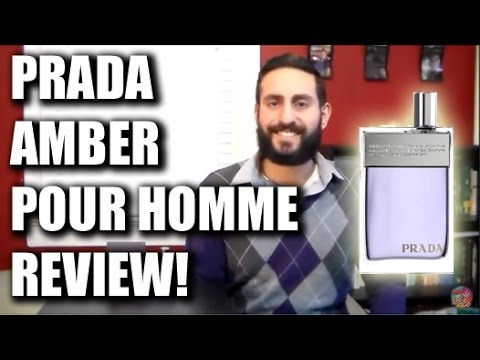 Amber Pour Homme by Prada Fragrance / Cologne Review