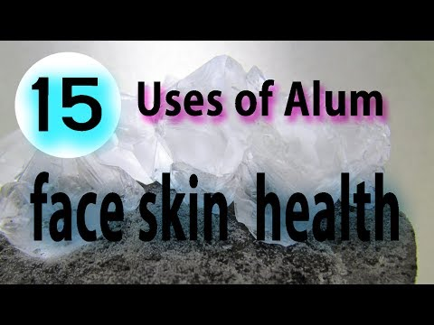 Video Top 15 Uses of Alum for face, skin, and health - Benefits of Alum Fitkari powder download in MP3, 3GP, MP4, WEBM, AVI, FLV January 2017