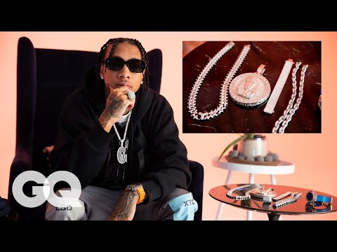 Tyga Shows Off His Insane Jewelry Collection | GQ