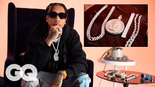 Video Tyga Shows Off His Insane Jewelry Collection | GQ MP3, 3GP, MP4, WEBM, AVI, FLV Januari 2019