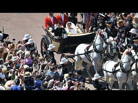 Λονδίνο: Χιλιάδες στους δρόμους για τον πριγκιπικό γάμο…