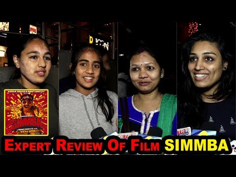 SIMMBA  Movie Public Review | Ranveer Singh's BEST FILM 2018