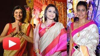 Bollywood Stars At Durga Puja 2013 - Bengali Actresses Celebrate Durga Puja
