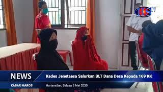 Kades Jenetaesa Salurkan BLT Dana Desa Kepada 169 KK (HARIANSIBER TV)