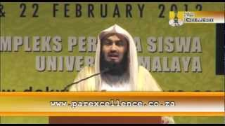 Mufti Menk- Being Steadfast on the Path