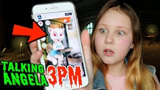 Video CALLING TALKING ANGELA ON FACETIME AT 3PM!! *LUCKY HOUR* MP3, 3GP, MP4, WEBM, AVI, FLV Januari 2019