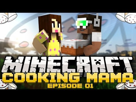 Minecraft Mini-Games: Cooking Mama - W/ ZaiLetsPlay