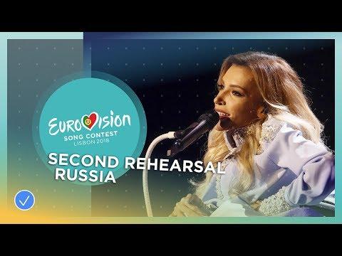 Julia Samoylova - I Won't Break - Exclusive Rehearsal Clip - Russia - Eurovision 2018 (видео)