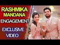 Geetha Govindam Heroine Rashmika Engagement Highlights | Geetha Govindam | TFCC Live