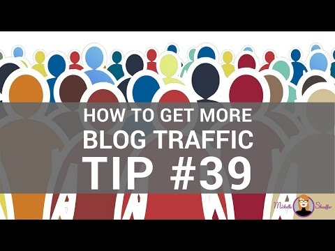 How to Get More Blog Traffic - Tip #39 (1 Easy Hack to Get More Tweets)